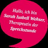 Sarah Sprechblase